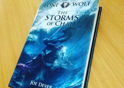 Lone Wolf 29 – The Storms of Chai
